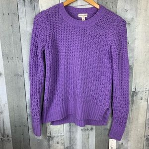 Maison Jules NWT Knit Crew Neck Sweater
